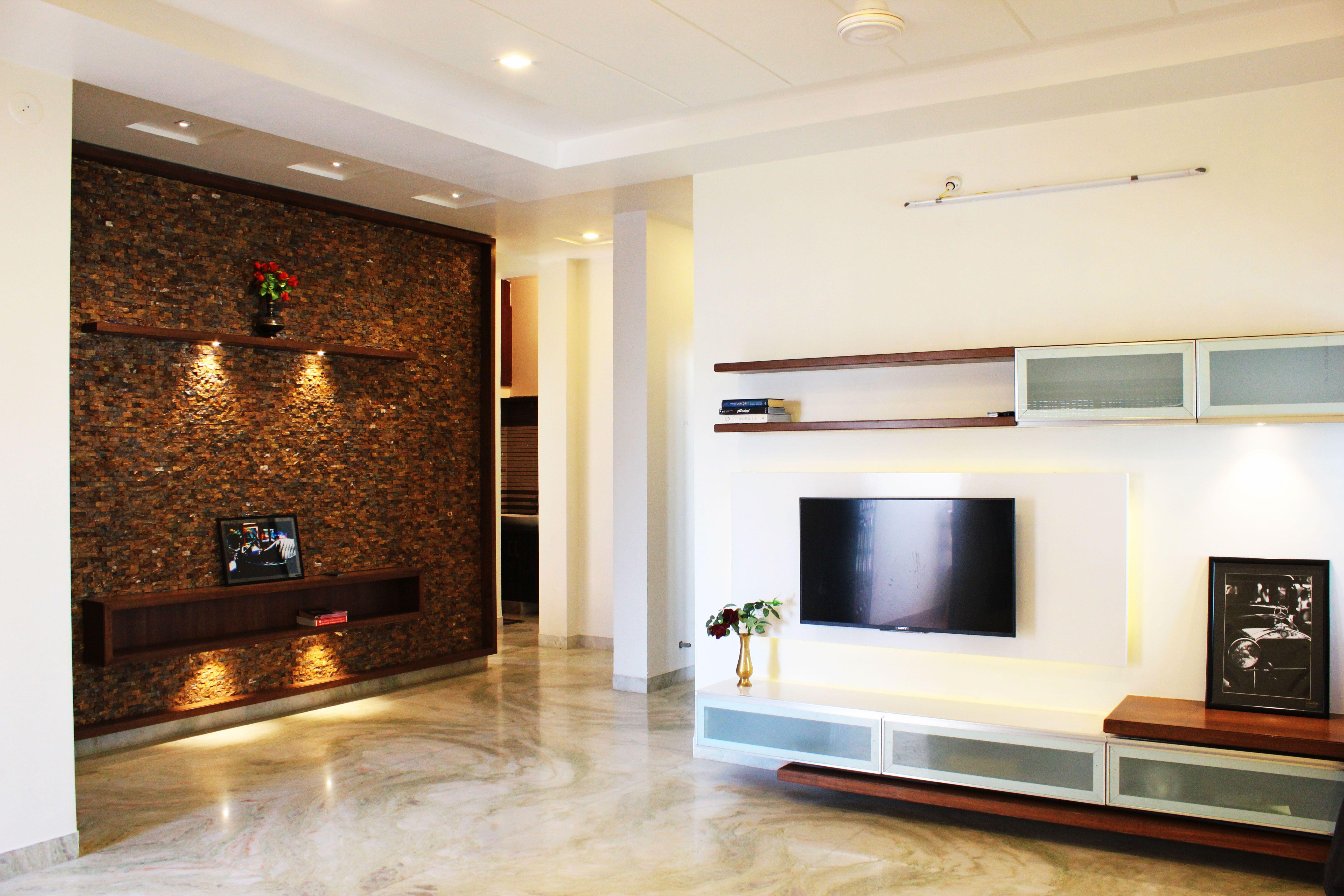 Tv Unit + Entrance Lobby