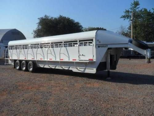 2013 32 Easley Stock Trailer For Sale For More Information