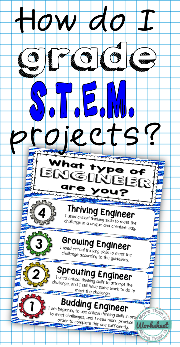 How To Grade Stem Projects 2nd Grade Science And Stem Pinterest