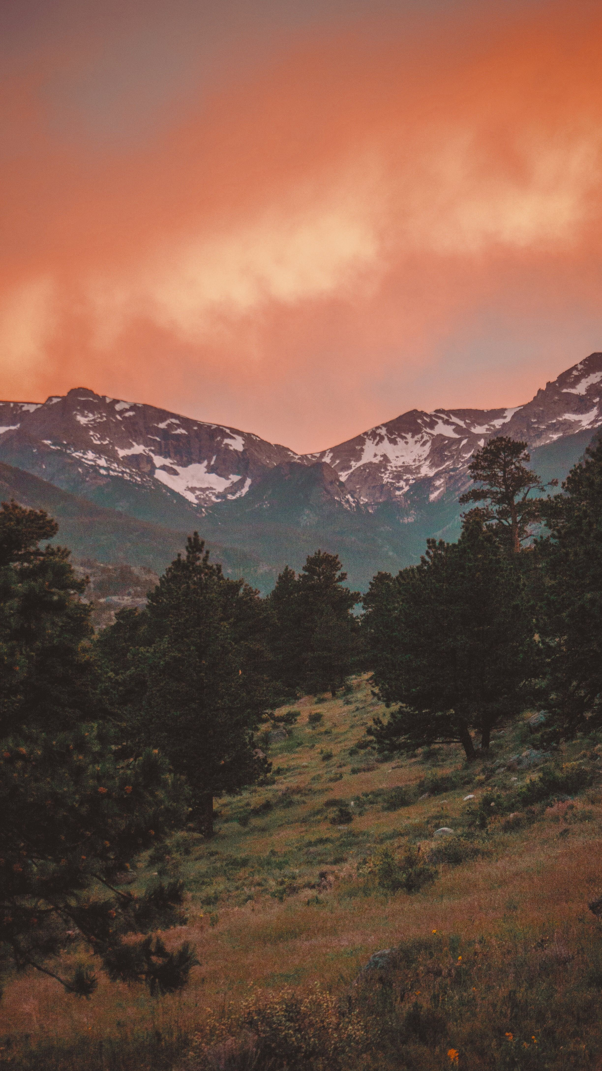 Itap Of A Rocky Mountain Sunset Mountain Landscape Mountain Sunset Mountains