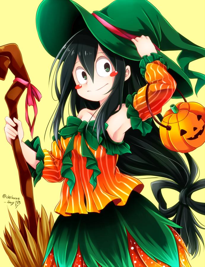 Boku no Hero Academia Tsuyu Asui (Halloween) Boku no