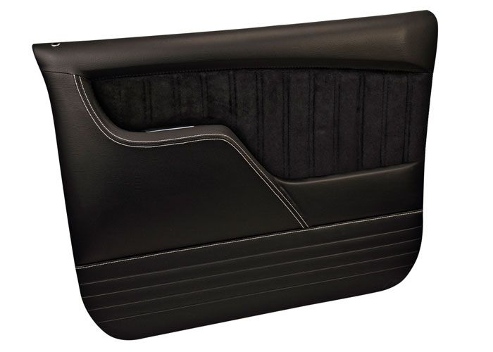 67 72 Custom Sport Door Panels Black Brotherstrucks Com