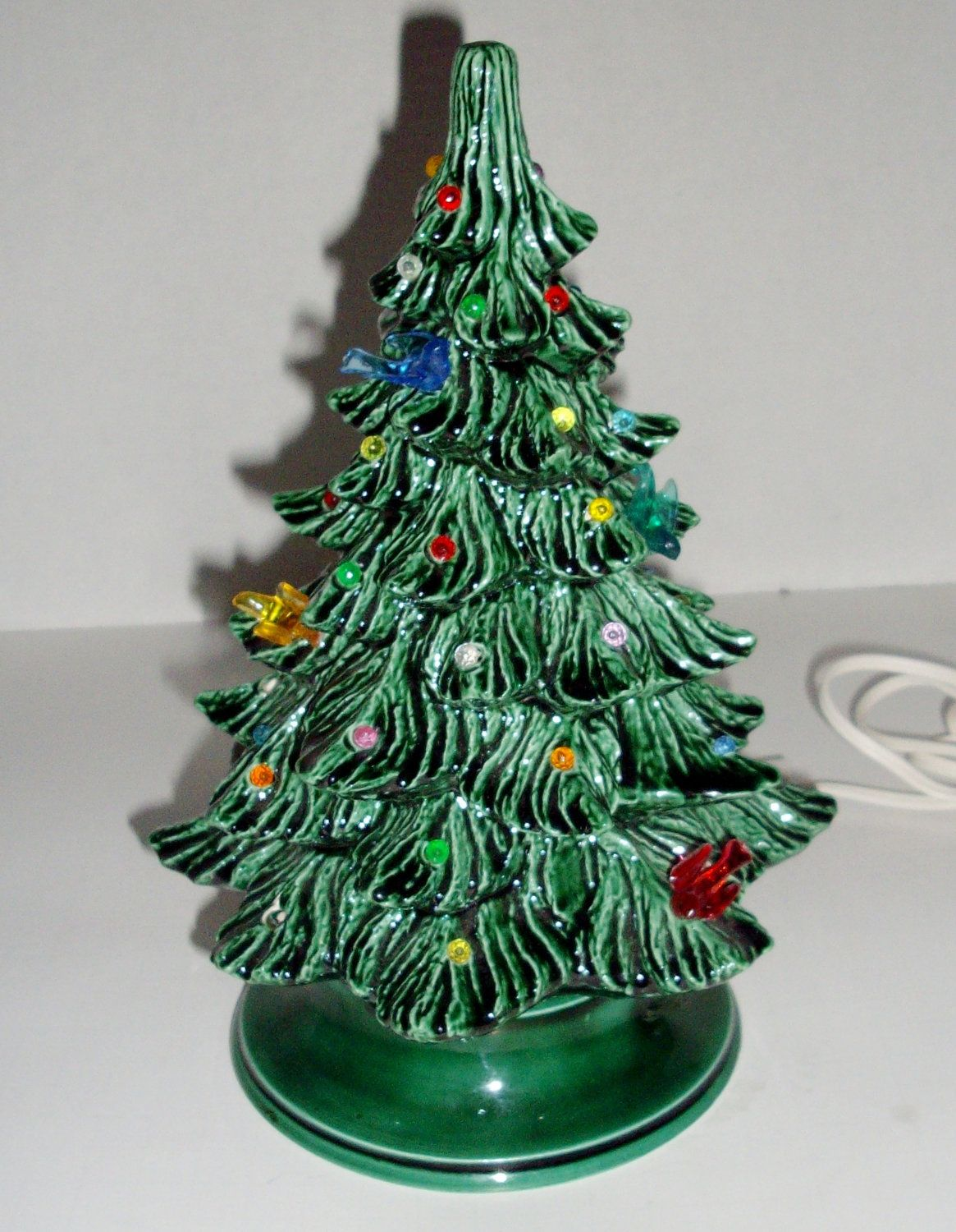 Ceramic Tabletop Christmas Tree With Lights Alluring Pinkerri George On Holidays  Pinterest  Vintage Christmas Design Decoration