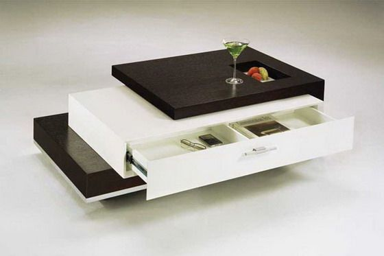 Three Views Of Same Table 3; Trio Contemporary Coffee Table   Home  Decorating Trends Magazine