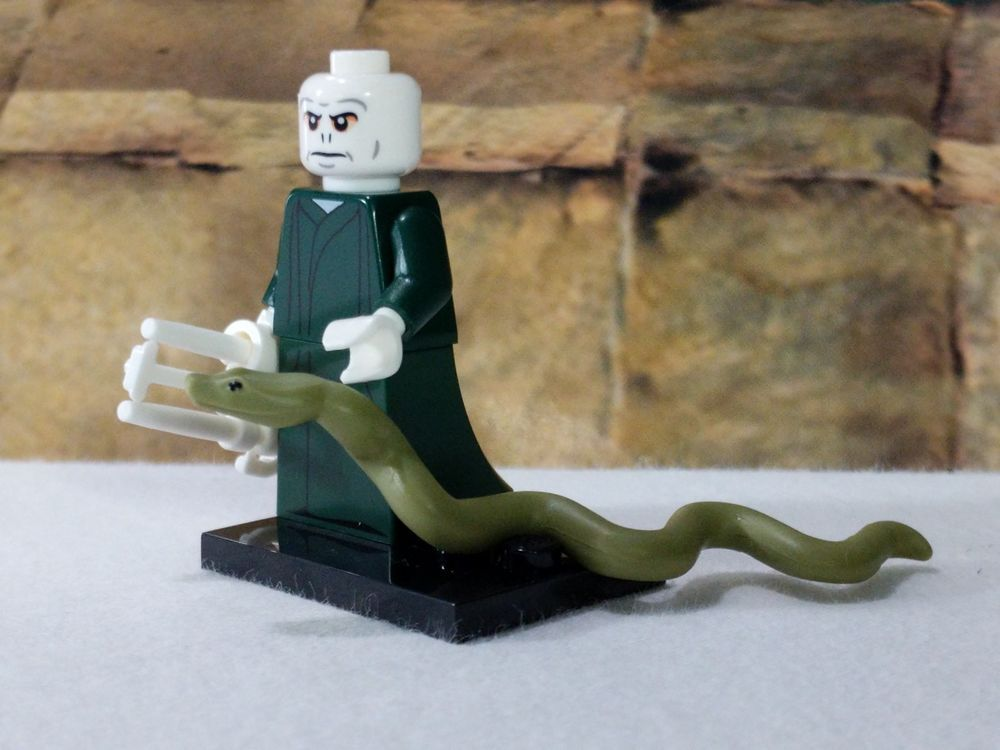Snake minifigures Harry Potter Voldemort