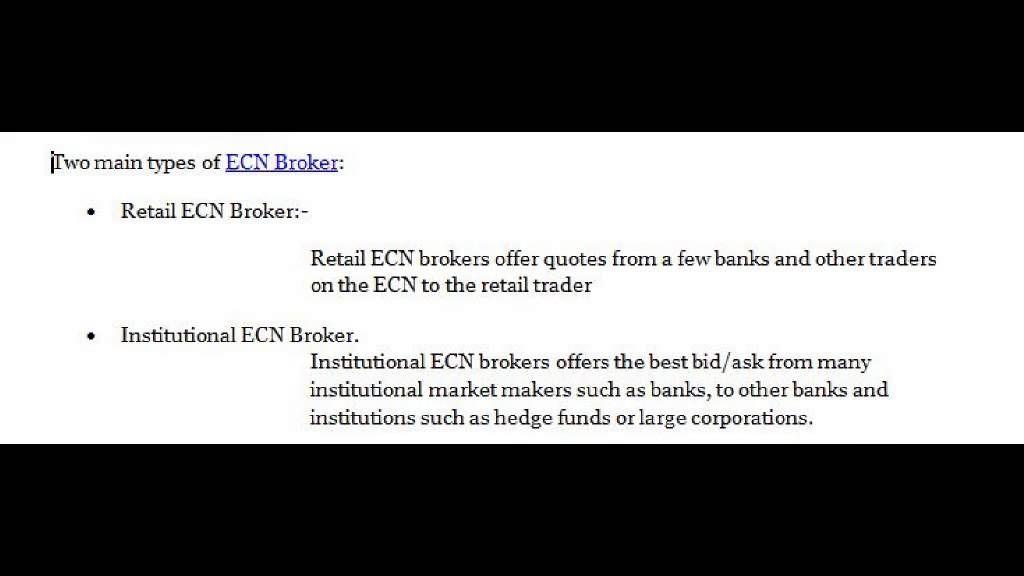 Ecn Broker Ecn Forex Broker Online4x Markets Http Www