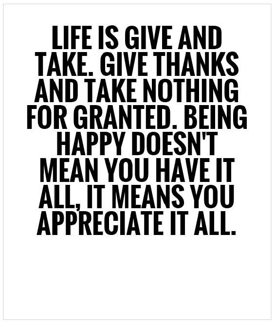 Life Is Give And Take Quotes Sayings A Dash Of Inspiration