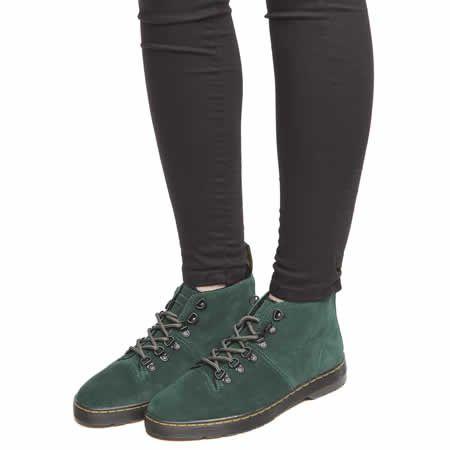 green dr martens mens chukka boot