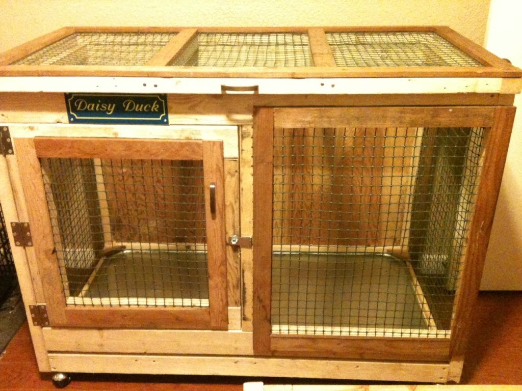Nice Idea For An Indoor Duck Pen If I Can Covince My