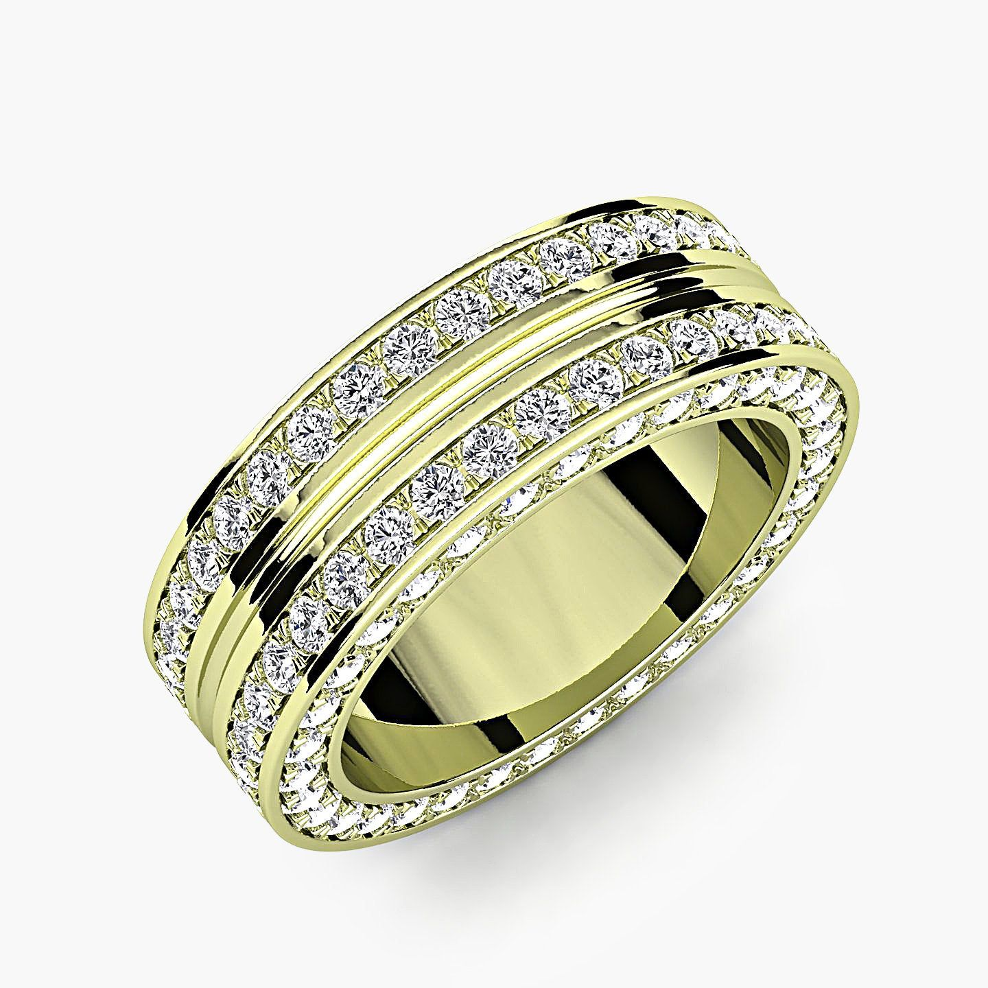 48+ Solid 18k gold mens wedding band info