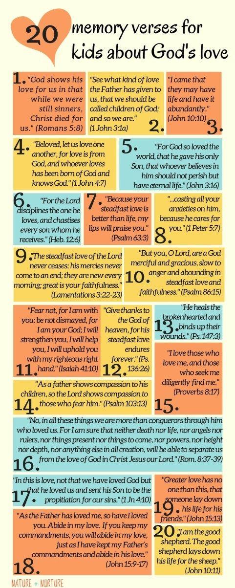 The Bible Contains Many Examples Of Gods Love But This List Compiles Best Memory