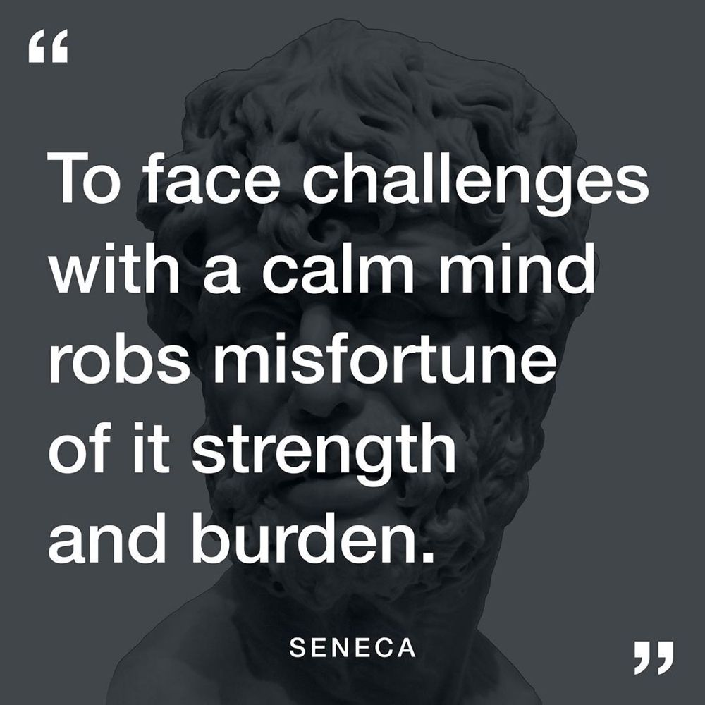 "Stoic Reflections on Instagram: ""Do you agree with Seneca?"
