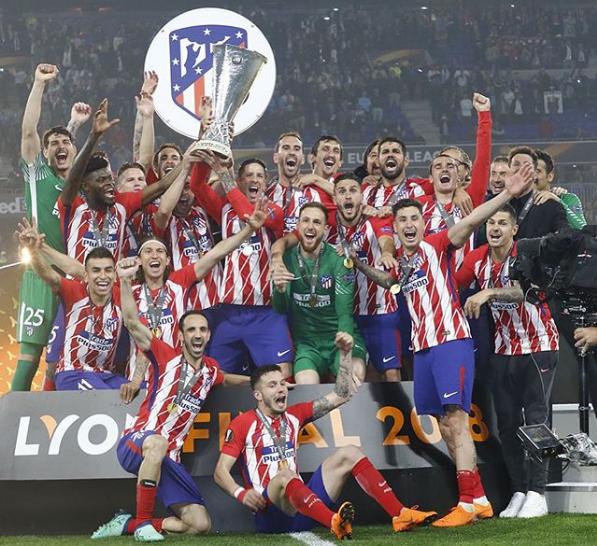 Atletico X Europa League Atletico De Madrid Atleta Club Atlético De Madrid