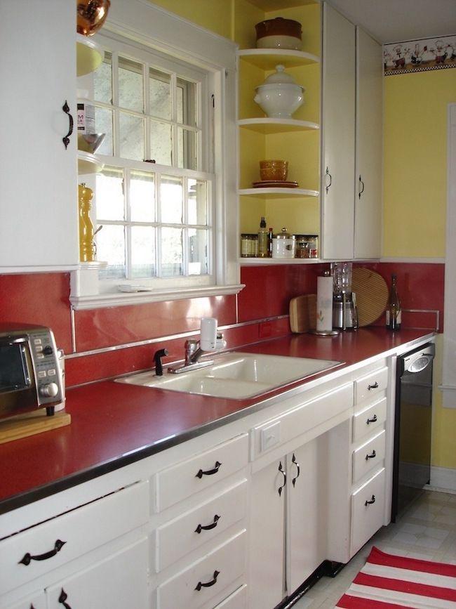 Red Kitchen Accents Red Kitchen Accents Vintage Kitchen Decor