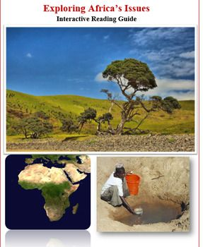 This 9 page interactive booklet focuses on Africa's ...