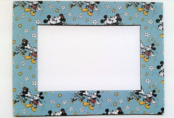 Mickey Mouse Minnie Mouse Refrigerator Photo Frame Magnet Suitable