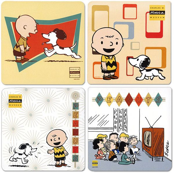 The Charles M. Schulz Mid-Century Modern Exhibit | by peppermint kiss kiss