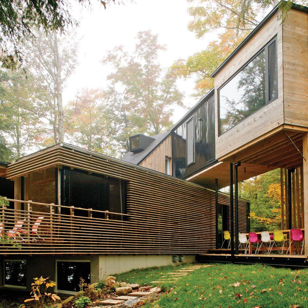 Les maisons faites à partir de conteneurs font peu à peu leur place dans le paysage