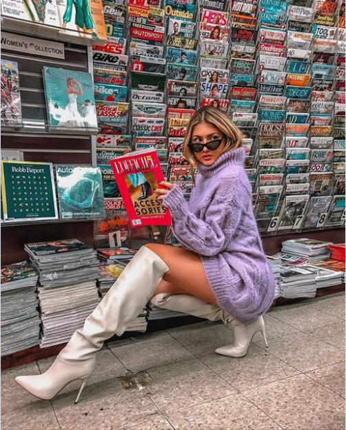 Fashionismyforte looking 🔥🔥🔥 in the Orianna OTK boot  LoveGUESS ... 73f0a520cd
