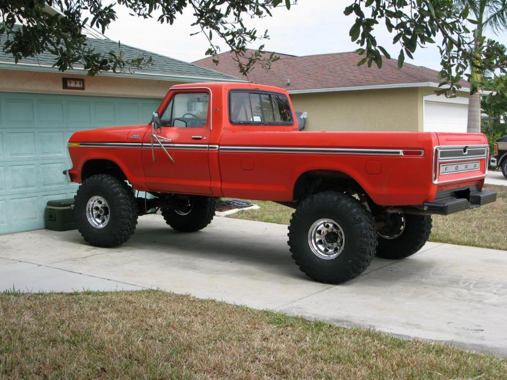 Custom 4x4 trucks 1978 f150 custom 351m c6 4x4 standard cab longbed d44 9