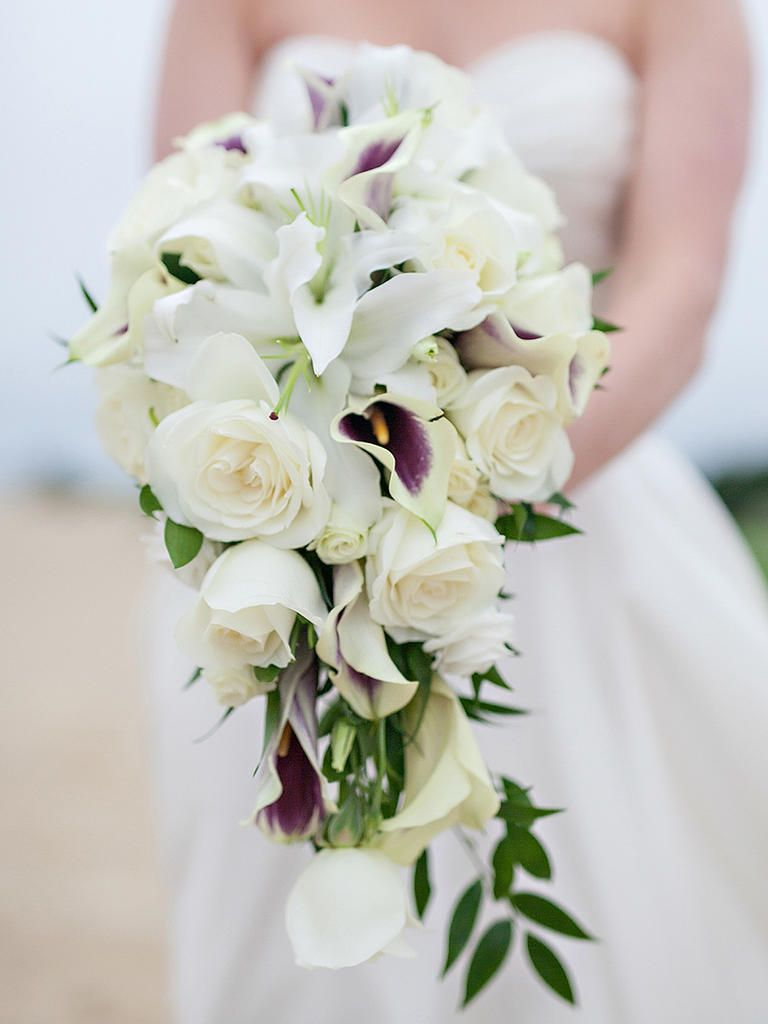 15 Cascading Wedding Bouquets For Every Style Cascading Wedding