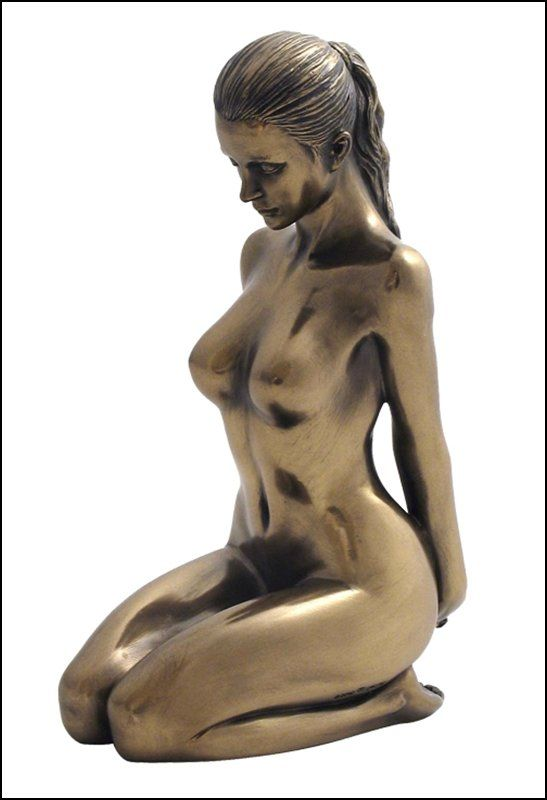 Male and female nude sculptures by waylande gregory for sale