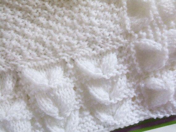 Bluebell Baby Blanket Knitting Pattern Pdf Knit Patterns Blanket