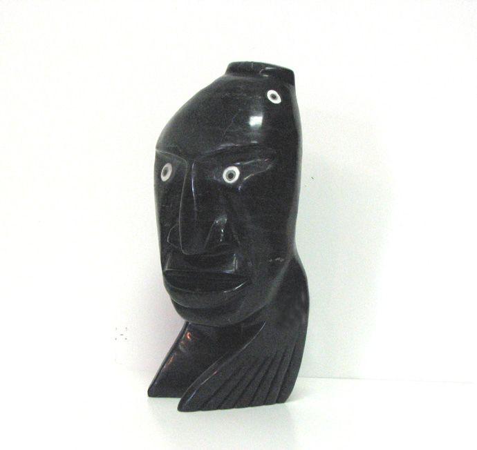 Faces - Toonoo Sharky - Cape Dorset | Innuit Art Gallery - London Ontario