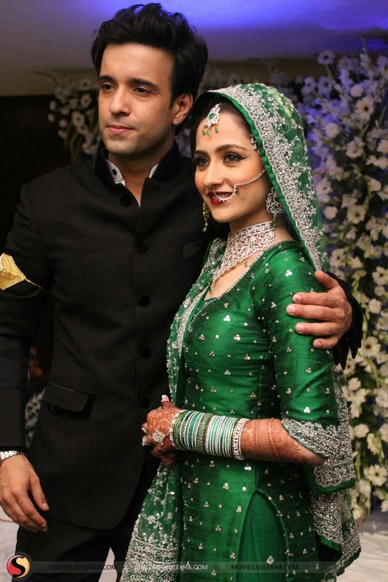 aamir ali and sanjeeda sheikh wedding stills amp pics ek