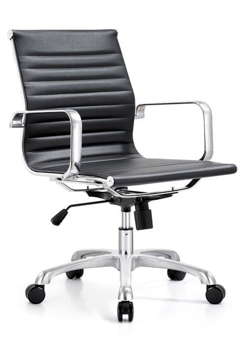 woodstock marketing joplin mid back eco leather chair lendkey