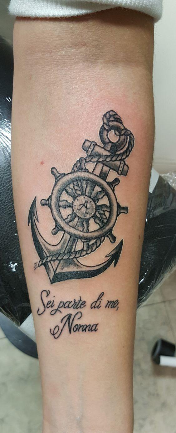 Tatuajes De Anclas Imagenes Ideas Y Significados Tatuajes De