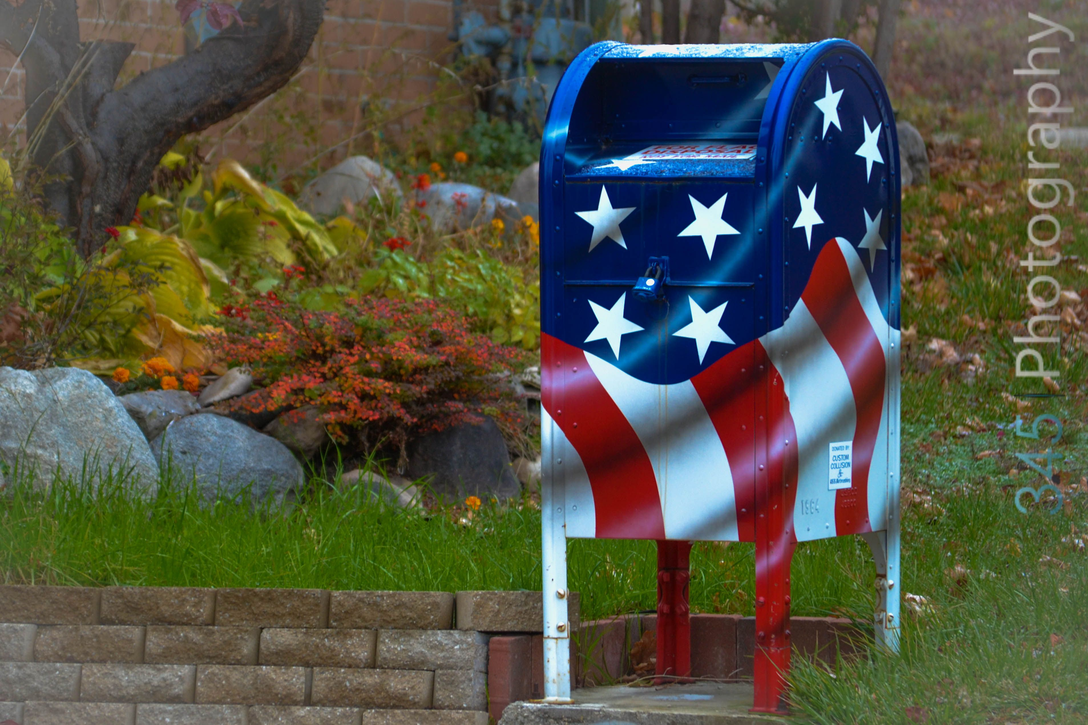 Flag disposal box eagle scout project eagle scout girl