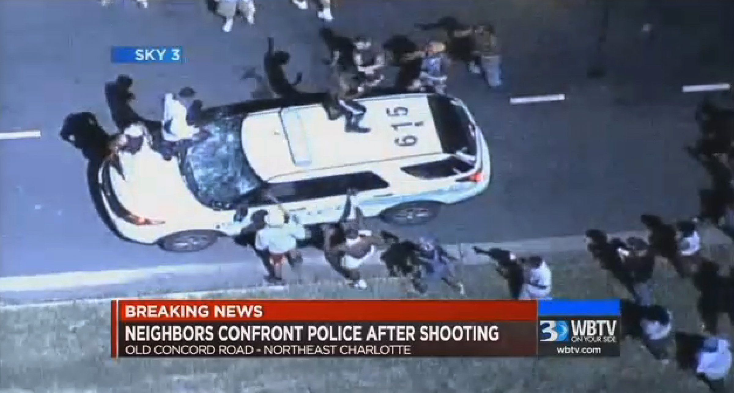 Charlotte Police Chief: Multiple officers gave clear warnings before firing on armed black man