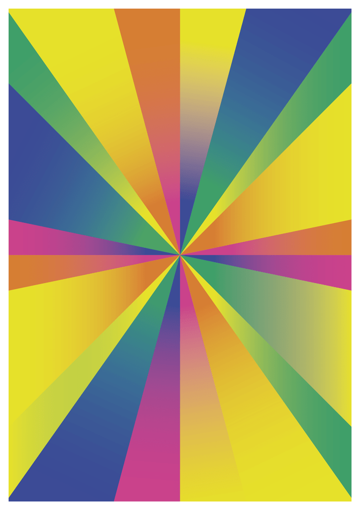 COLORAMA BY FELIX CULPA _ rogue graphic arts. #graphicart #graphicdesign #art #abstract