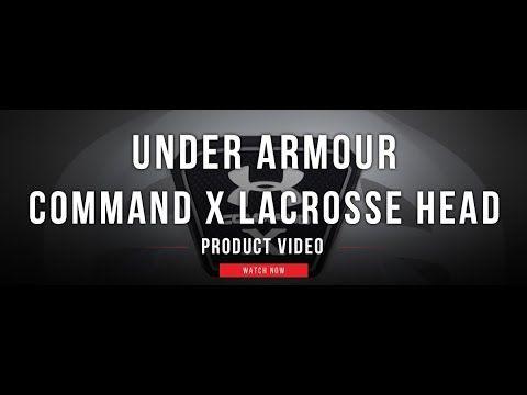size 40 6b03d 6d2b7 Under Armour Command X Lacrosse Head   Lax.com Product Videos