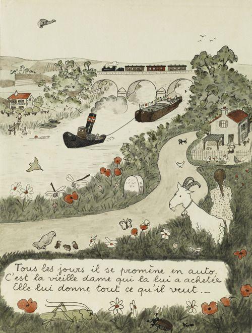 Original Babar Books Illustration Art Art