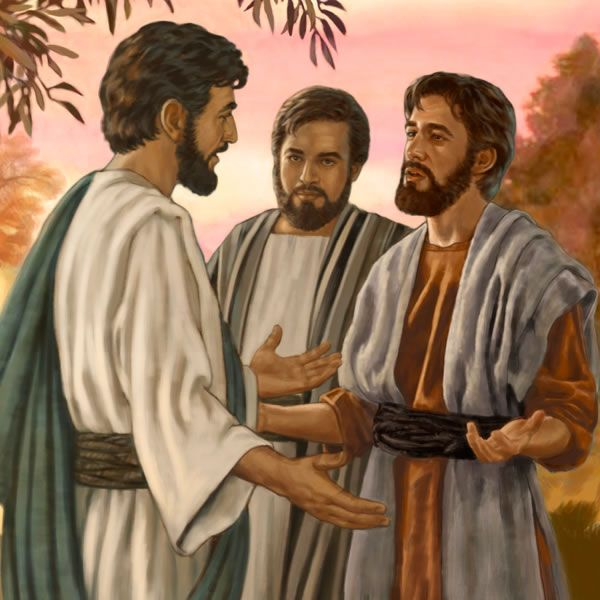 Image result for Jesus and Philip, art