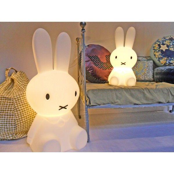 Lampe Miffy Grand Modele Deco Chambre Enfant Lampe Enfant