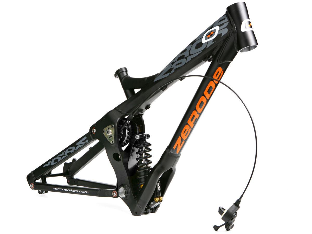 Zerode Bikes Google Trsene Full Suspension Mountain Bike