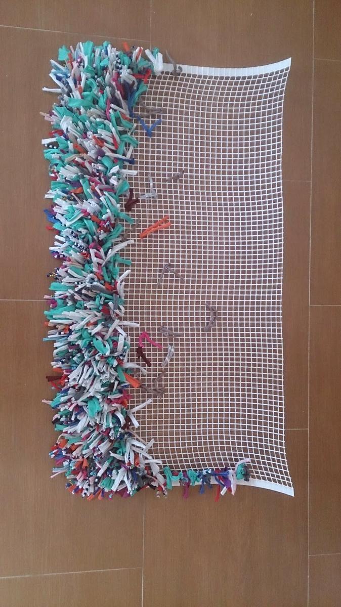 De tela vieja a alfombra nueva incre ble retos - Telas para alfombras ...