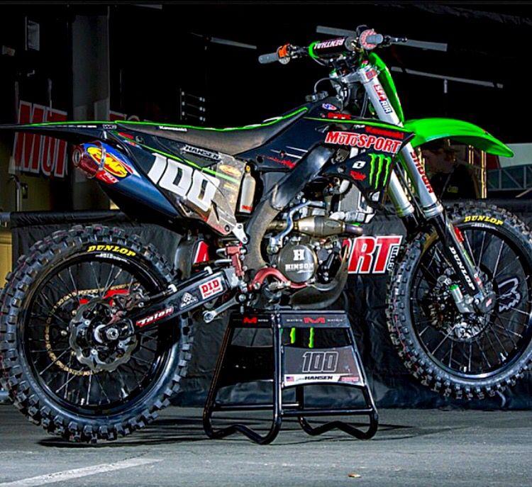 Josh S Sick Bike Motorcross Bike Kawasaki Dirt Bikes Dirt Bikes