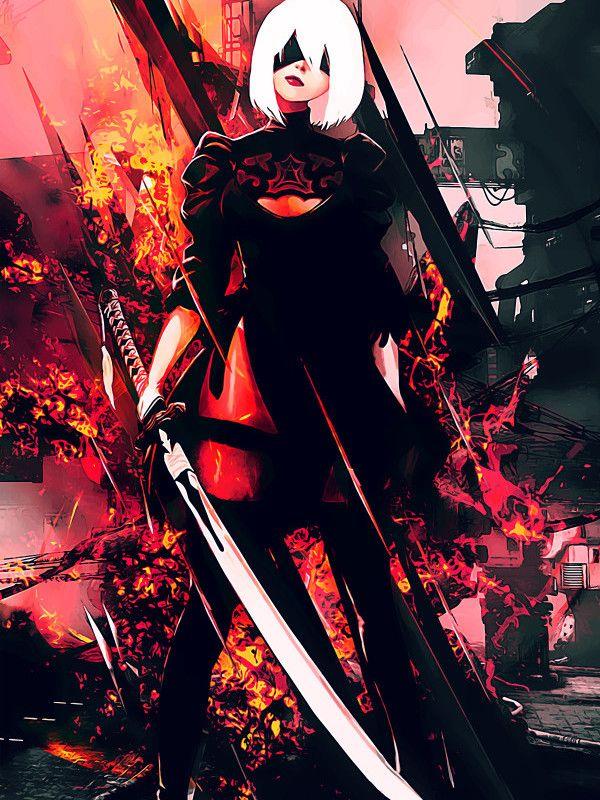 NieR Automata Gaming Poster Print metal posters Nier