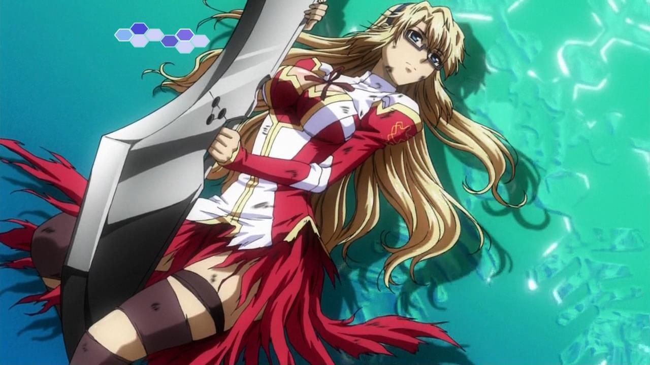 Satellizer L. Bridget Anime Freezing anime, Anime