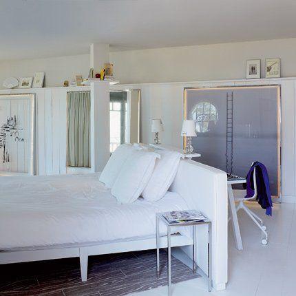 Buzz : Une tête de lit que fait aussi office de coin bureau ! Si ...