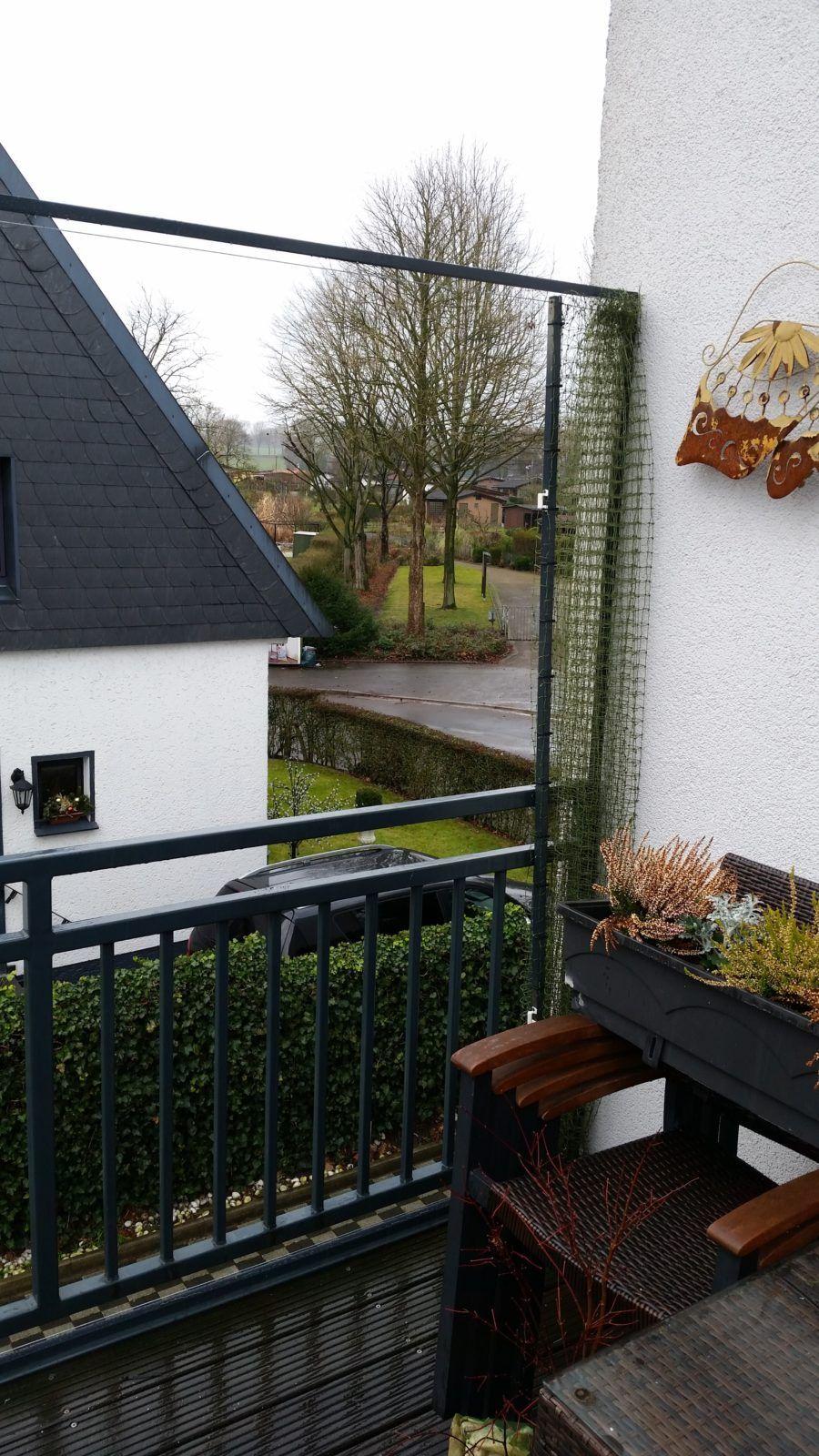 Schiebbares Katzennetz System Ohne Bohren Am Balkon Katzennetz