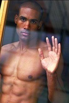 Sexy man screen saver