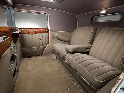 1930 Cadillac Sixteen V16 Convertible Sedan Interior 8 X 10