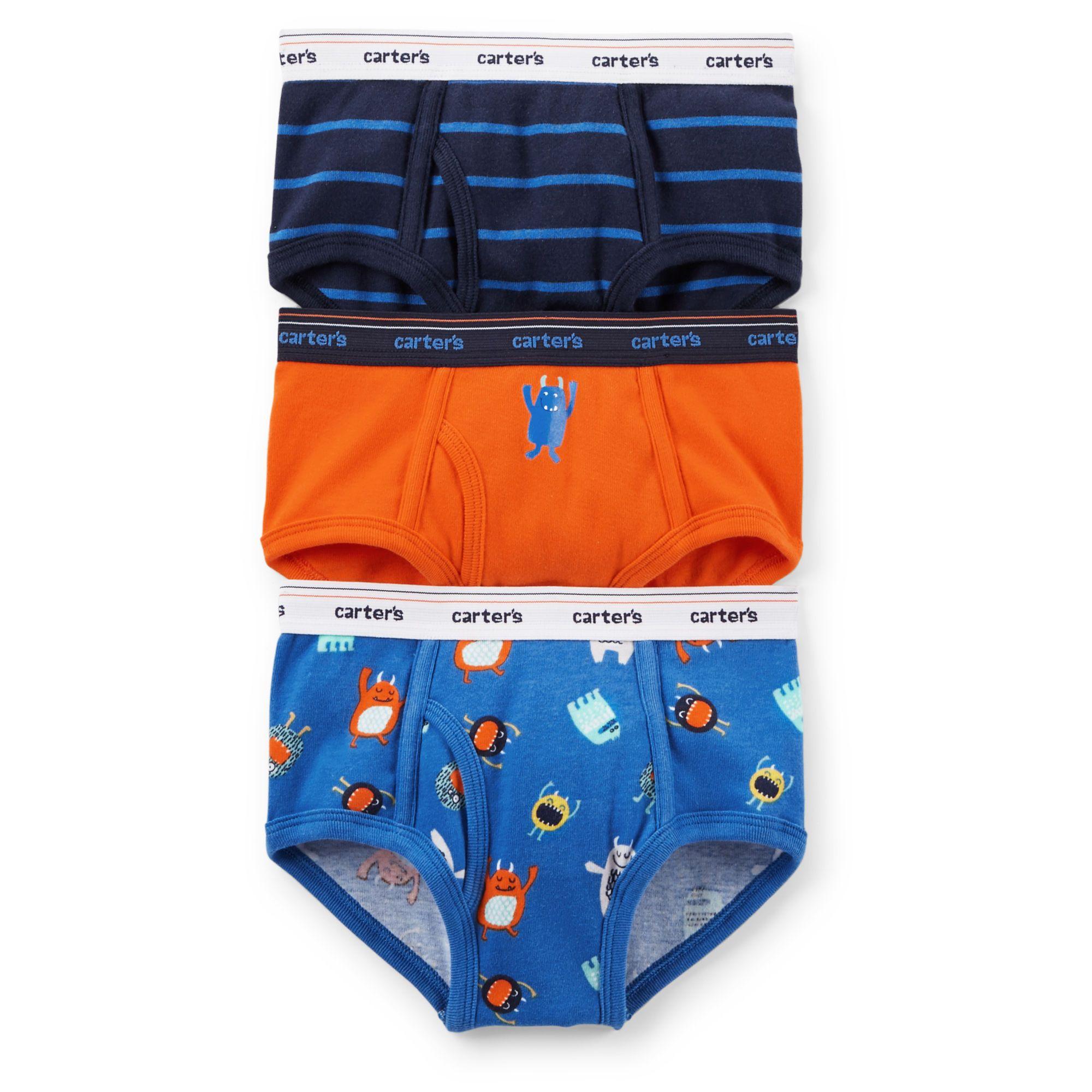 3-Pack Cotton Briefs | Boys underwear, Kid and Boys