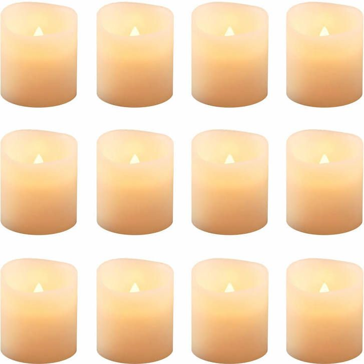 Electric Candles Bulk Battery Operated Votive Candles Votive Candle Set Led Candle Set