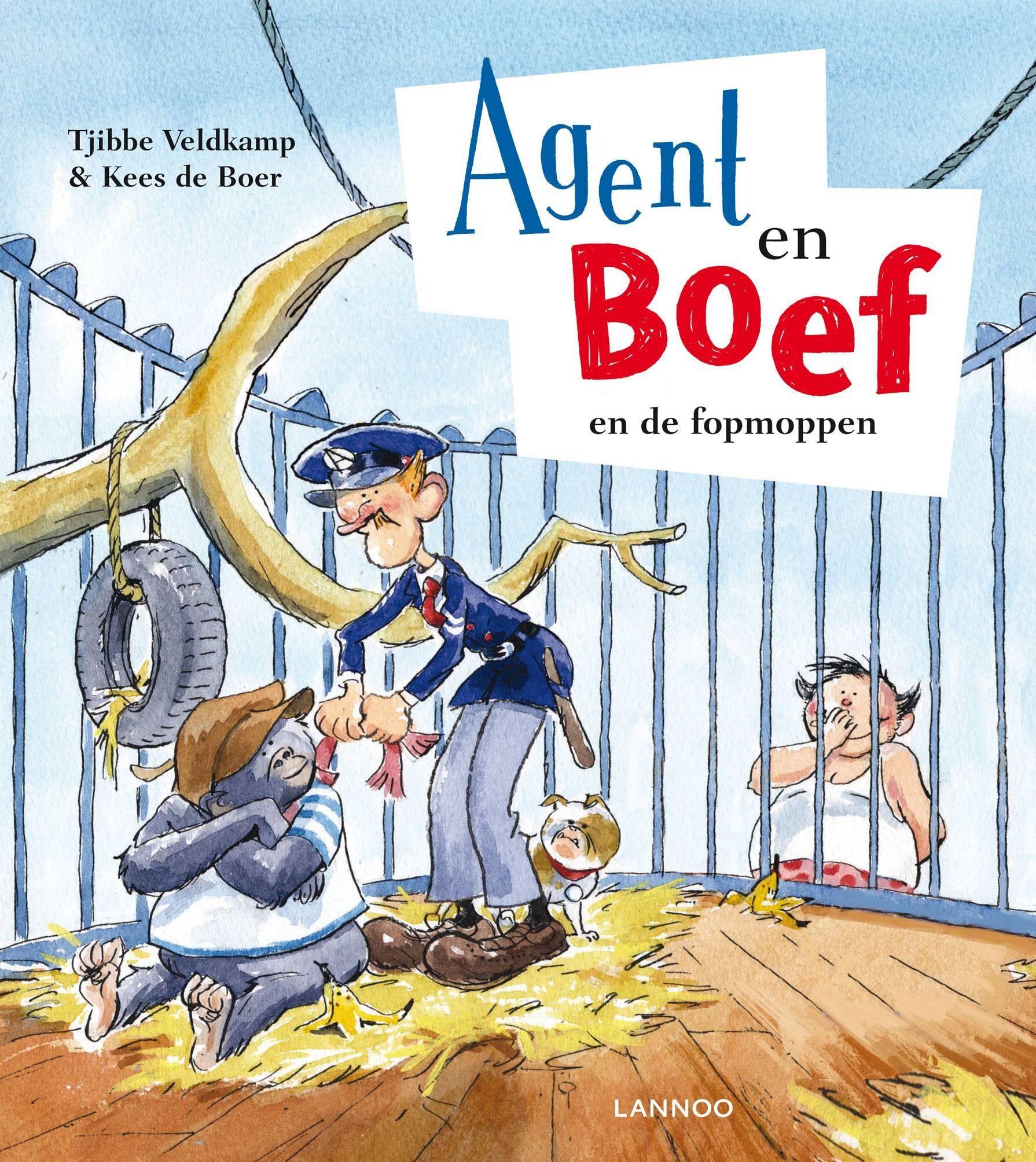 Agent En Boef En De Fopmoppen Kind Boeken Thema Boeken